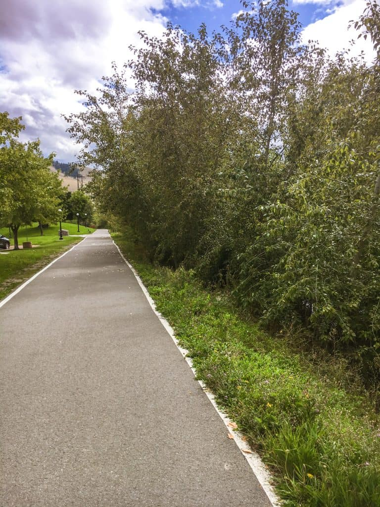 Missoula Riverfront Walking Trail