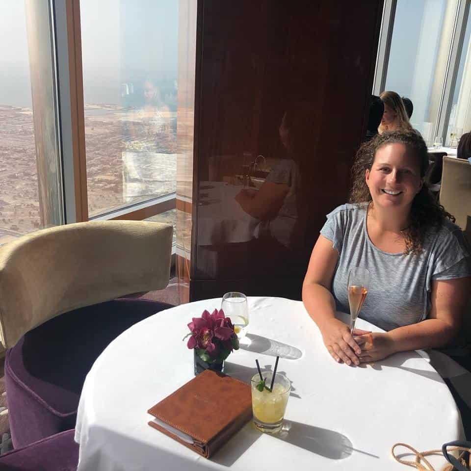 Best Places to Visit in Dubai, Burj brunch