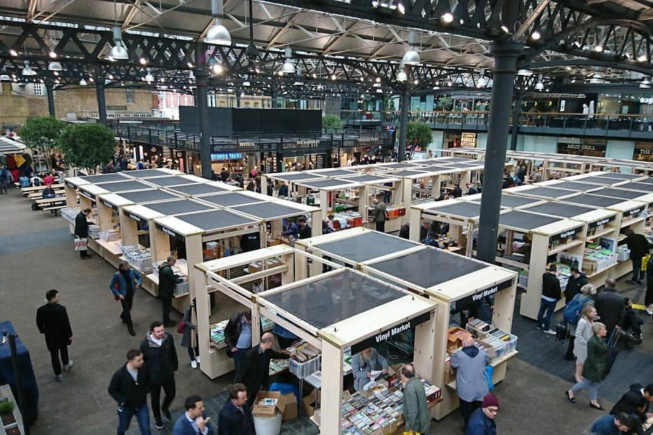 Old Spitalfields Market in London, England