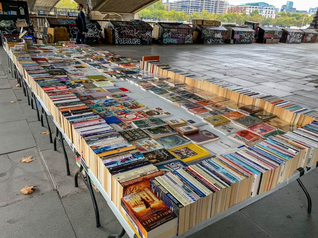 Southbank Centre Book Market