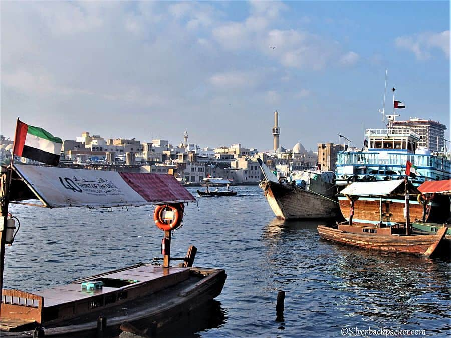 Along Dubai Creek, Dubai, UAE DIY Tour, one of the Best Places to Visit in Dubai