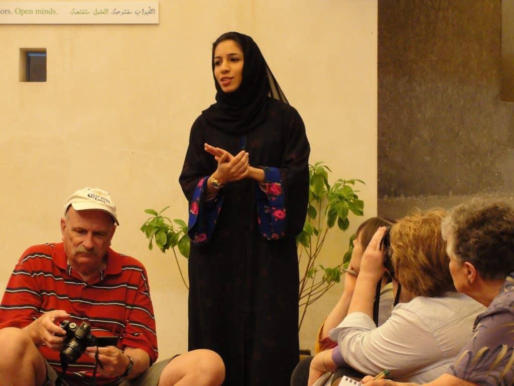 DUBAI-Bastakiya-Centre for Cultural Understanding-Khulood 2-c2010 Carole Terwilliger Meyers