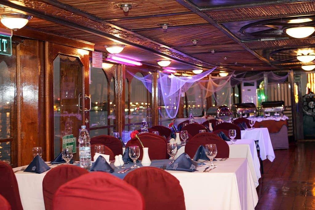 Dhow Cruise on Dubai Marina