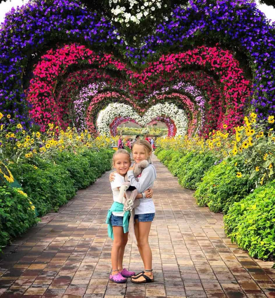 dubai-miracle-garden, one of the Best Places to Visit in Dubai